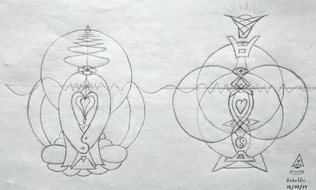 Empress and Emperor Energetics sketch